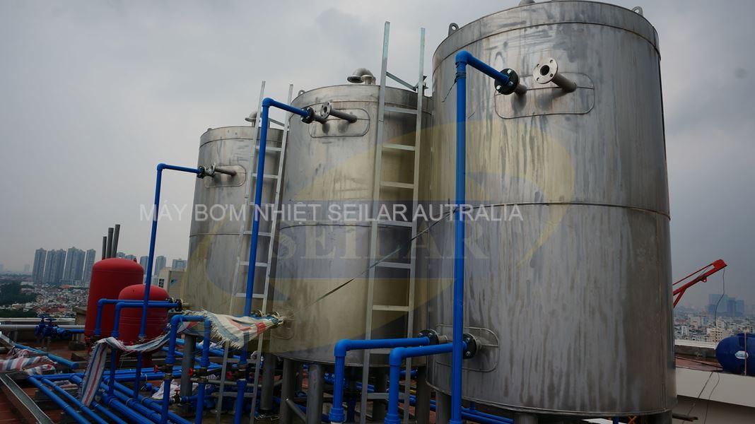 Hệ thống nước nóng trung tâm gia đình