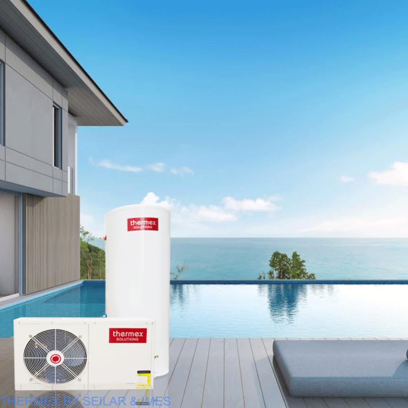 Dòng máy bơm nhiệt được sản suất 100% từ Úc bởi Thermex Solutions P/L nhập khẩu và phân phối bởi công ty Seilar CN Việt Nam